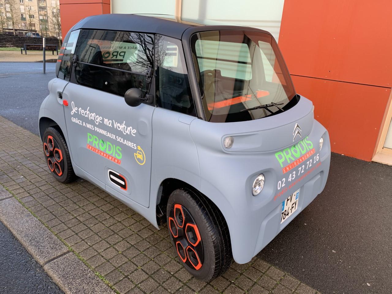 Recharger sa voiture avec les panneaux photovoltaïques PRODIS ENVIRONNEMENT